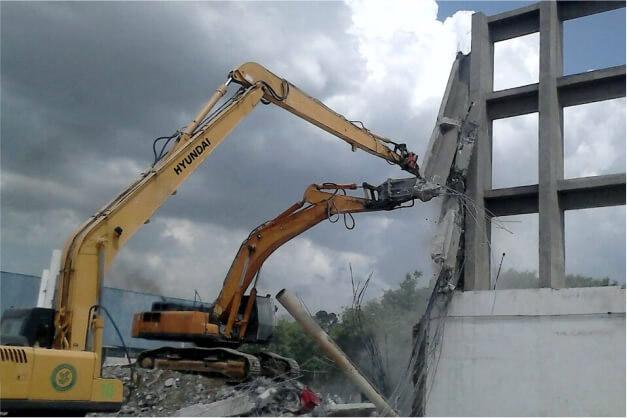 imagem demolição